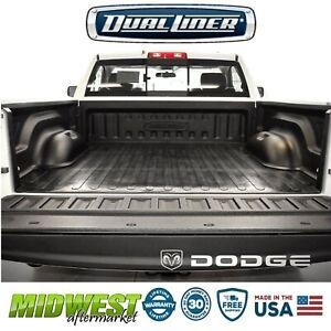 "DualLiner Bed Liner For 2002-07 Dodge Ram 1500 2500 6'4"" Bed W| Bolt in Tie Down"