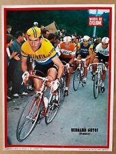 cyclisme tour de France miroir du cyclisme poster vintage années 60 GUYOT