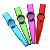 Kazoo Metal Flöte Diaphragm Aluminum Alloy Mundharmonika Instrument  D H Y
