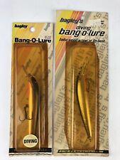 Bagley's 2 Diving Bang O Lure Vintage Fishing Lures Jerkbaits Tn Shad