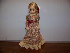 Vintage Effanbee 15 inch 1966 Blonde Hair Red Shoes Grandes Dames Four Seasons