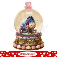 Jim Shore Genuine Gloom to Bloom - Eeyore waterball Figurine Disney Traditions