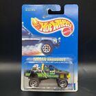 Hot Wheels 1991 #9588 Nissan Hardbody Truck Black Mattel Diecast 1:64 Scale