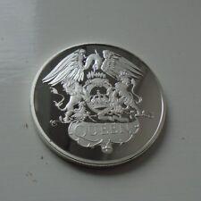 Queen Silver Plated Coin - Freddie Mercury