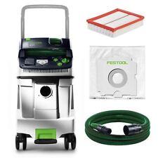 Festol Extracteur Mobil Cleantec Clt 48 E CTL48 584070 avec Filtre et Tuyau