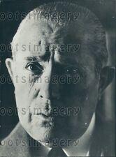 1974 Spain Prime Minister Carlos Arias Navarro Press Photo