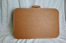 Vintage Tan Lady Baltimore Suitcase Luggage