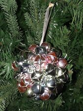 JINGLE BELLS Bell on Large BALL CHRISTMAS TREE ORNAMENT