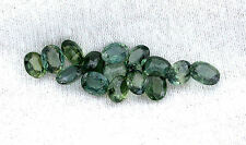 ONE 5x4 5mm x 4mm Oval Natural Thailand Green Blue Sapphire Gem Stone Gemstone