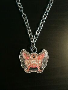 WWE Diva's Championship Butterfly Belt Authentic Pendant Necklace RARE