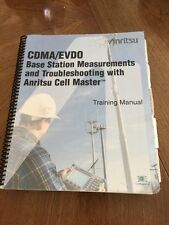 Anritsu CDMA/EVDO Base Station Measurements & Troubleshooting TRAINING MANUAL