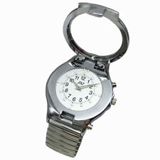 English Talking and Tactile Wrist Watch, Talking Date and Time, Expanding Band
