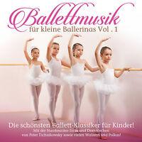 CD Ballettmusik Für Kleine Ballerinas Volume 1 von Various Artists  2CDs