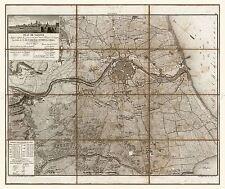Mapa Antiguo Napoleónicas Guerra 1812 Valencia España Grandes Repro de cartel impresión pam1149