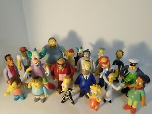 The Simpsons Playmates Figures (Assorted) Plus One Secret bonus figure