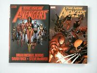 Marvel The New Avengers Deluxe Hardcover TPB Vol 1 2 Bendis Finch 1st Printing