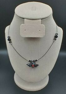 Bat Necklace for Halloween - Hand Crafted
