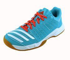 Adidas Essence 12 Women's Indoor Court Shoes - Badminton Squash Volleyball RB 9 Medium Blue