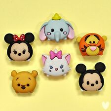 DISNEY Tsum Tsum 9085 DRESS IT UP Boutons-Mickey Mouse Winnie Pooh chat Dumbo
