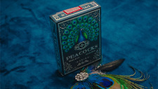 BRAND NEW CARDS - Limited Edition Peacocks Playing Cards by Rocsana Thompson