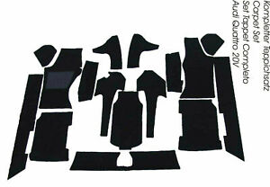 black carpet kit for Audi Quattro Urquattro 20V