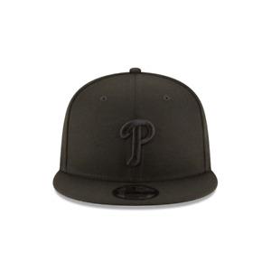 New Era 9Fifty Black/Black MLB Philadelphia Phillies Basic Snapback