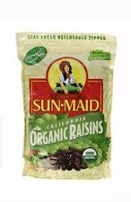 Sun Maid Organic Raisins 2 / Two Pound Resealable Bags Total 4 Lbs.