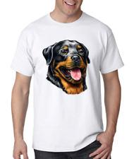 Rottweiler dog face t-shirt