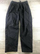 Mens REI E1 Elemant Water Resistant Black Pullover Rain Pants Large Short (J193)