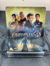 FANTASTIC FOUR BLU-RAY STEELBOOK UK RARE, NEW/SEALED