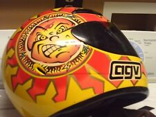 VINTAGE MOTOR CYCLE HELMENT-AGV-DRUDI PERFORMNCE #46-ITALY MADE 12/00