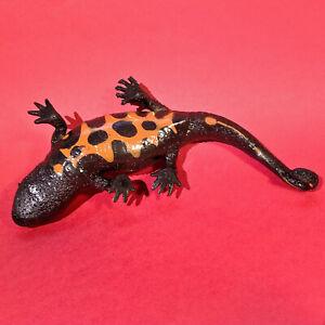 Italian crested newt soft rubber bead-filled jigglers Kreaturex Sbabam
