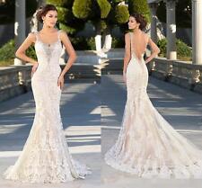 2016 New White/Ivory Bridal Gown Wedding Dress Custom Size:6/8/10/12/14/16++