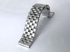 22mm Straight End Super Engineer Solid Heavy Stainless Metal Watch Bracelet Men
