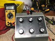 Heathkit Model IN-11 Decade Resistance Variable Resistor Vintage Test Equipment