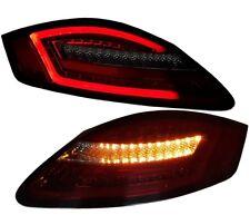LED RÜCKLEUCHTEN PORSCHE CAYMAN + BOXTER 987 04-09 ORIGINAL SONAR RAUCHGLAS ROT