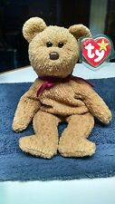 rare beanie baby Curly bear with errors