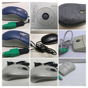 Pick 1]Microsoft IBM PS/2 Mouse Optical USB Pointing Device Trackball Scrolling