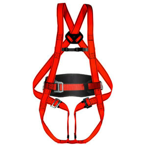 Auffanggurt Rückenstütze Klettergurt Geschirr Fallschutzgurt Absturzsicherung