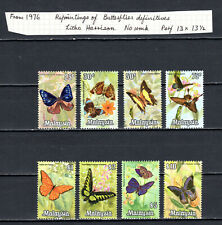 MALAYSIA MALAYA 1970 BUTTERFLIES HARRISON PHOTOGRAPHIC COMPLETE SET OF MNH STAMP