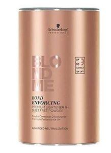 Schwarzkopf BlondMe Bleach Bond Enforcing Premium Lightener 9+ 450g - Dust Free