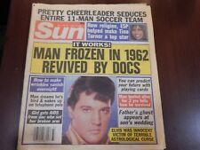Sun Magazine Elvis August 18,1987 Paperback