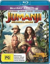 Jumanji - Welcome To The Jungle (Blu-ray, 2018)Brand new Dwayne Johnson