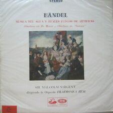 ORQUESTA FILARMONICA REAL - SIR MALCOLM SARGENT - HAENDEL -  LP