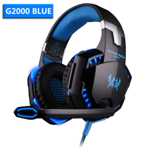 G2000/G9000 Gaming Headset Set Deep Stereo Casque Wired Headphone and Microphone