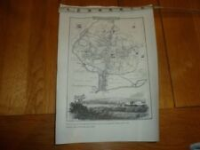 Vintage Reproduction Lithography Antique Maps, Atlases & Globes