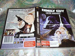 FAMILY GUY PRESENTS BLUE HARVEST (DVD, MA15+) (152227 A)