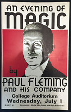 Original Paul Fleming Window Card