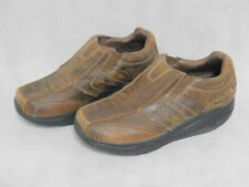 Sketchers Shape Ups Slip-On Loafers Shoes Mens Size 8.5 Brown Leather 66501