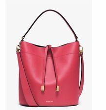 Miranda Medium Leather Shoulder Bag Raspberry Collection Michael Kors UNIQUE